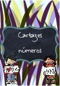 Cartazes números