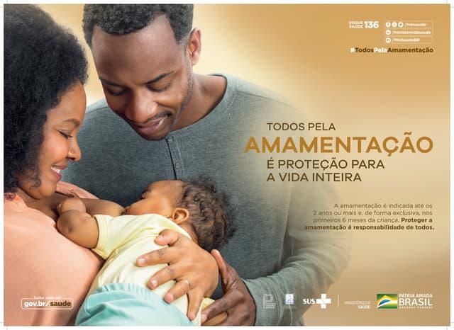SMAM 2021: cartaz do Ministério da Saúde