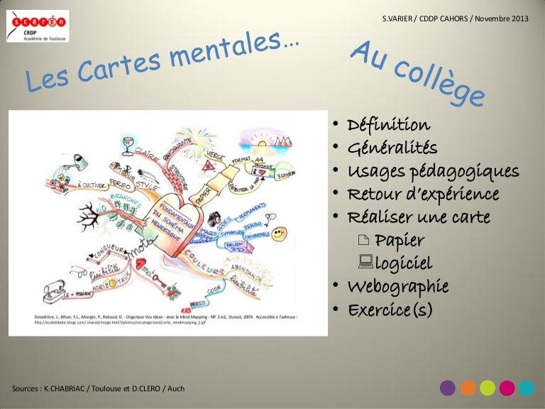 Carte Mentale College 2013