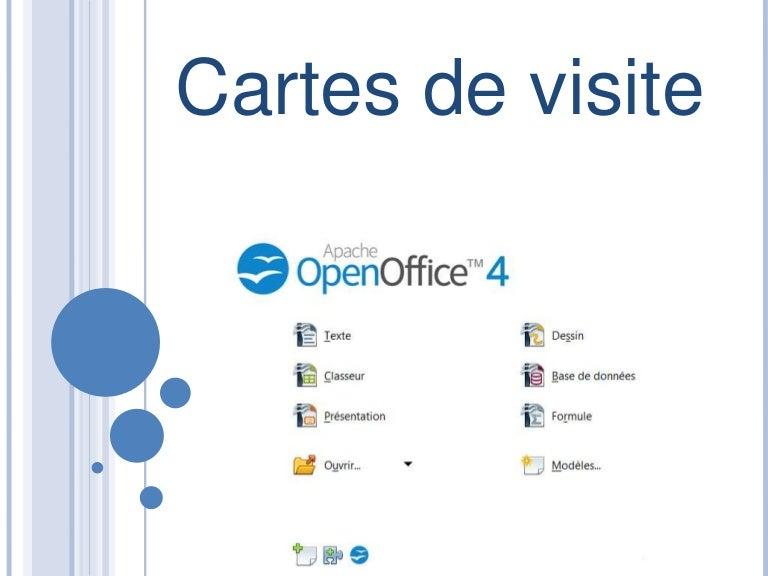 Carte De Visite Open Office