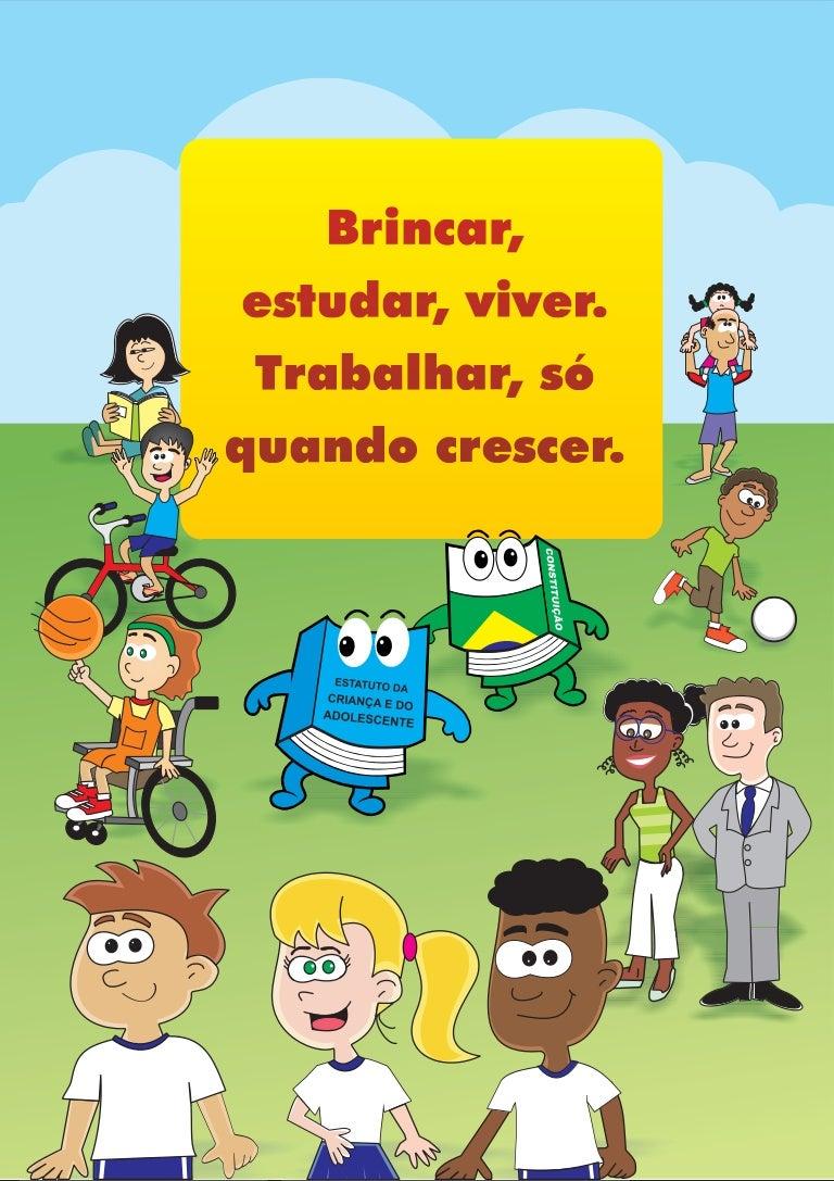Suficiente Cartilha sobre os Direitos e Deveres da Criança BG25