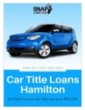 Car Title Loans Hamilton to get quick funding