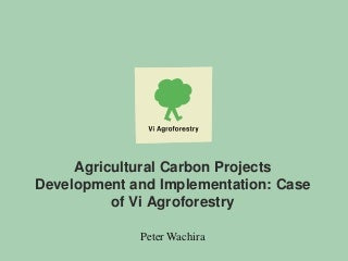 Carwg meeting in bulawayo vi agroforestry presentation