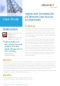 Case study - Safety and Certainty for all Remote User Access at Elektrotim