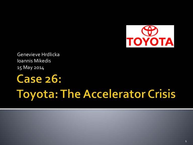 toyota motor manufacturing case study analysis Toyota motor manufacturing case study this essay toyota motor manufacturing case study is available for you on essays24com search term papers, college essay examples and free essays on essays24com - full papers database autor: 24 • july 14, 2011 • 1,309 words (6 pages) • 3,637 views.