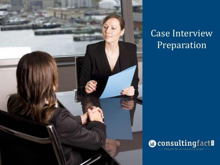 interview case study presentation