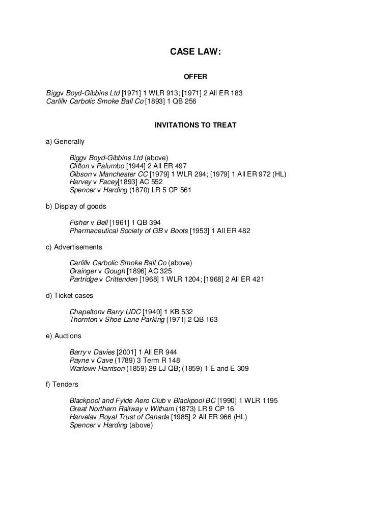 warlow v harrison case summary