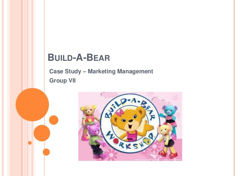 build a bear build a memory five marketing management concepts • generate and lead new product concepts and development based on consumer insights, market research, and consumer demand • research product and market trends to ensure product mix is current.