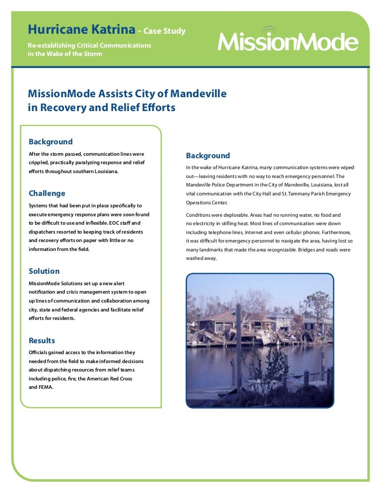 federalism and hurricane katrina essay The katrina breakdown the aftermath of hurricane katrina may be remarked as a very important aspect to understand the relationship between federal, state, and local governments when it comes to major catastrophe.