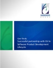 Successful partnership with ISV in Product Development Lifecycle