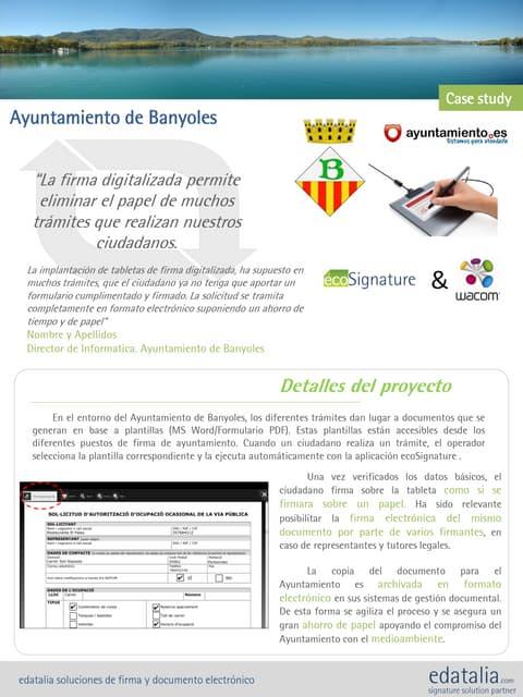 Case Study Ayuntamiento Banyoles