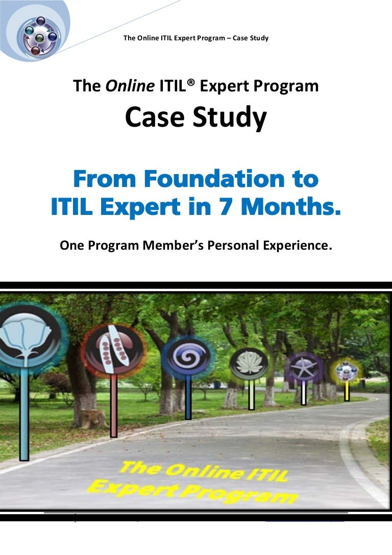 Itil expert certification case study 1betcityfo Images