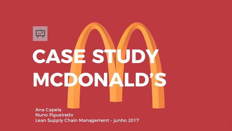 mcdonald s case study Berikut ini adalah study kasus digital marketing untuk mcdonald's untuk info lebih lanjut, anda bisa menghubungi erudite training provider di.