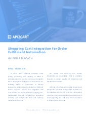 API2Cart: Shopping Cart Integration for Order Fulfilment Automation