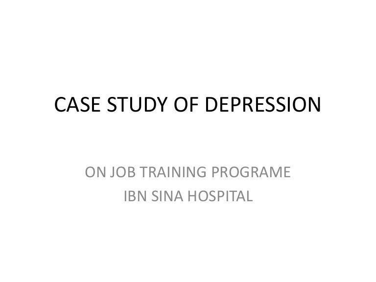 Case Study  Herbal Treatment of Depression     Naturopathic Doctor