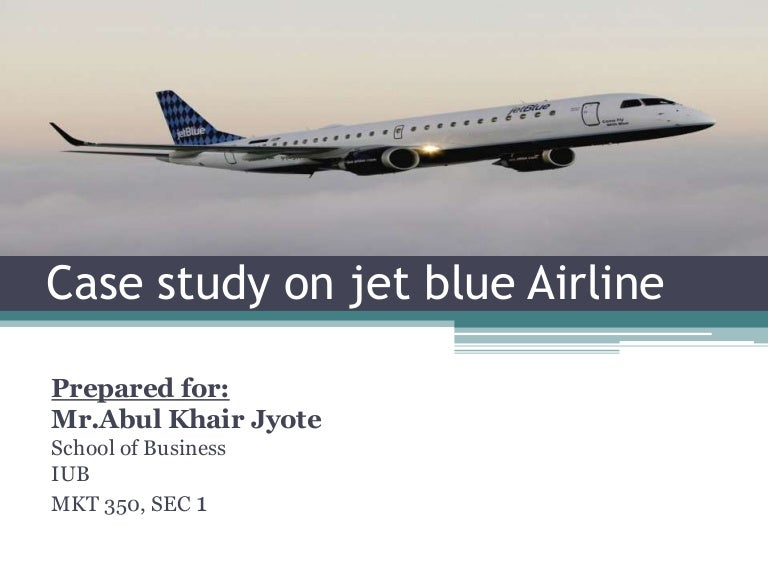blue streak: inside the airline jetblue essay - currently, there are many major airlines such as delta, united and american that exist in the same market as jet blue those airline companies have used similar strategies as jetblue united and american airline flies to the same cities as jet blue and appeal to the business travelers who have the least sensitivity on price.