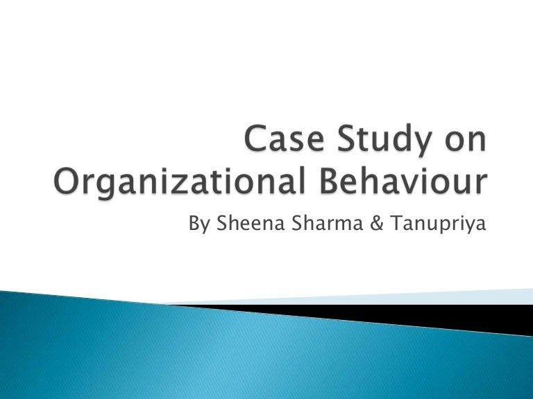 organizational behavior chapter 8 case study A fully digital program, this first edition of organizational behavior leverages wileyplus learning space to create a vibrant, collaborative learning community where you can instantly gauge if students are completing the assigned work and interacting with the coursework and each other.