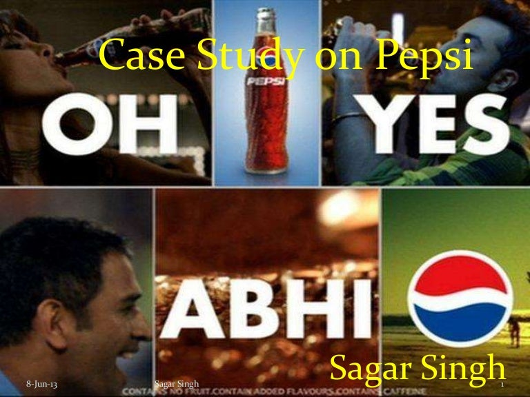 pepsi case study 19 The bgc matrix shows that pepsico's main product pepsi-cola is a cash cow and this is to be expected with pepsi-cola, mountain dew and diet pepsi accounting for almost 30 billion dollars in sales for 2009 (pepsico annual report 2009 - management's discussion.