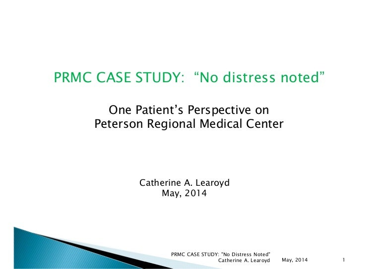 medical report case study questions Purpose: the purpose of this case report is to demonstrate the importance of a thorough patient interview the case involves a man referred for physical therapy for a musculoskeletal dysfunction during the patient interview, a psychiatric disorder was recognized that was later identified as.