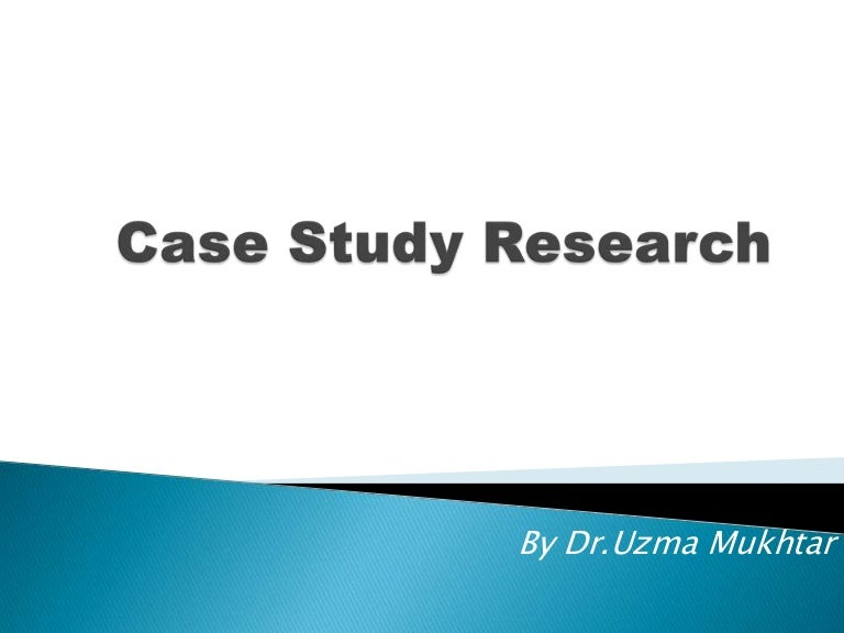 Replication or Single Cases  Part   of   on Case Studies   YouTube Case study