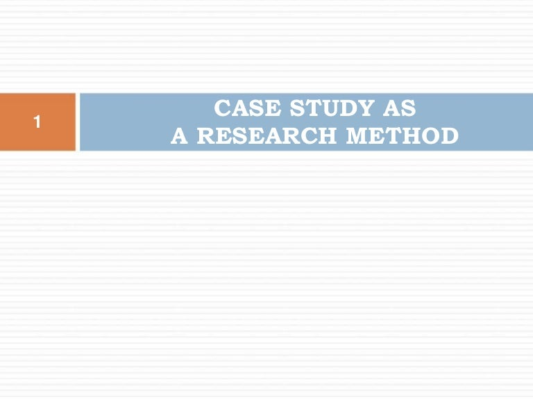 The state of case study approach in mergers and acquisitions     ResearchGate