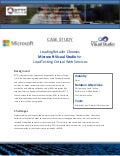 Case Study:  Leading Retailer Chooses Microsoft Visual Studio for Load Testing its Critical Web Services