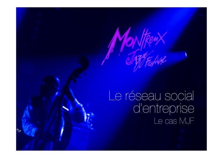 étude De Cas Rse Montreux Jazz Festival Mathieu Jaton