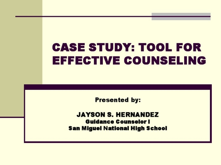 Career counseling case FUNCTIONS OF GUIDANCE AND COUNSELLING BUREAU IN AN EDUCATIONAL  INSTITUTEINTRODUCTION