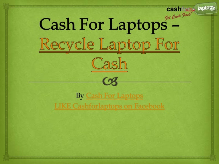 e recycle for cash