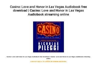 casinoloveandhonorinlasvegasaudiobookfre
