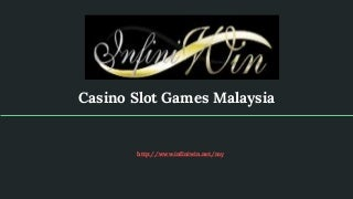 slot games companies