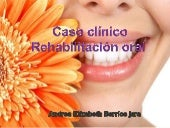 Caso clinico operatoria dental