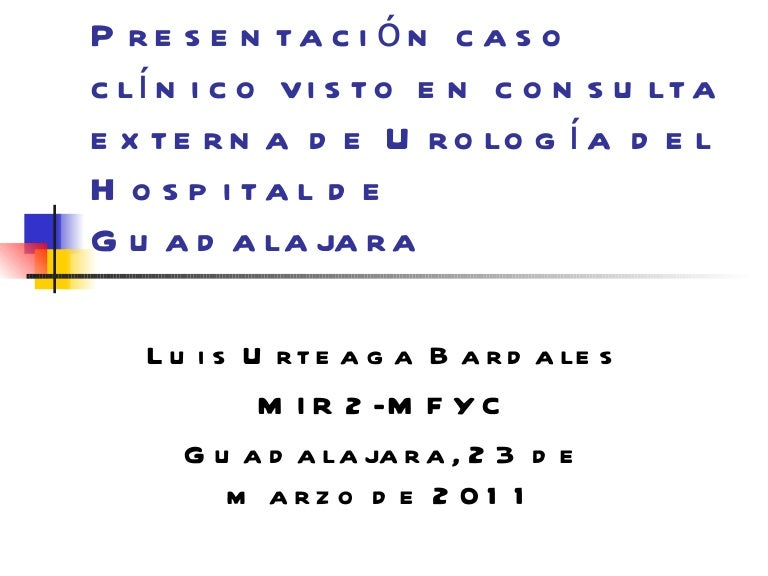 hospital clinico urologia