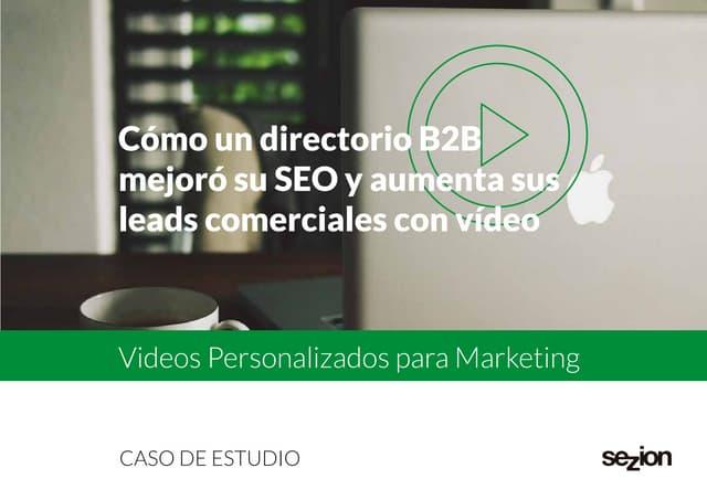 Caso de estudio: Cómo Nlocal está ayudando a sus clientes a mejorar su SEO y a generar más leads comerciales con vídeos personalizados