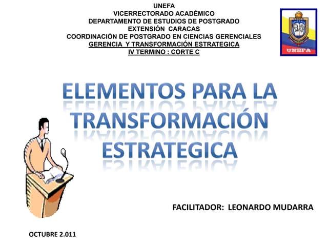 Caso practico de transformacion estrategica