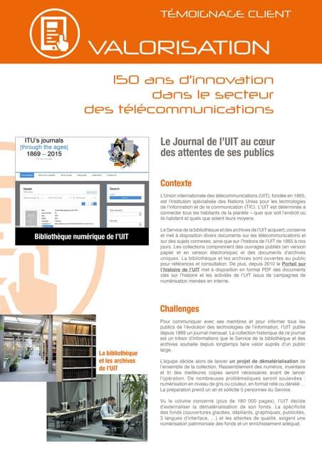 ITU valorise ses collections grâce à Arkhênum