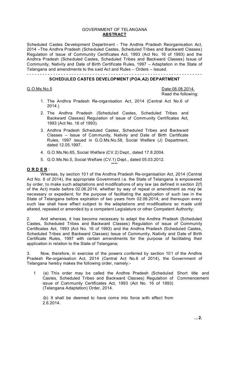 Caste certificates go5pdf 1betcityfo Choice Image