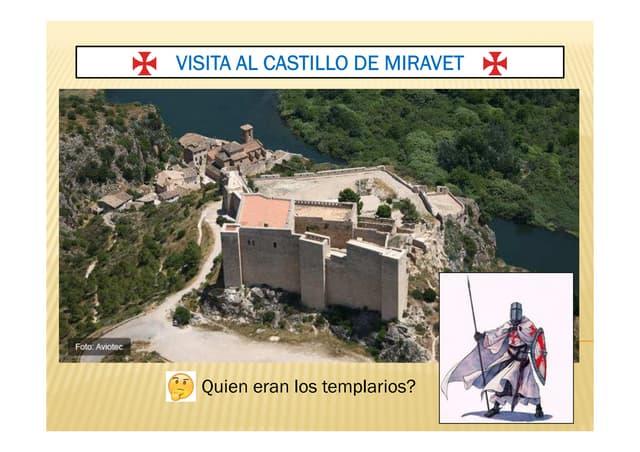 Visita al castillo de Miravet