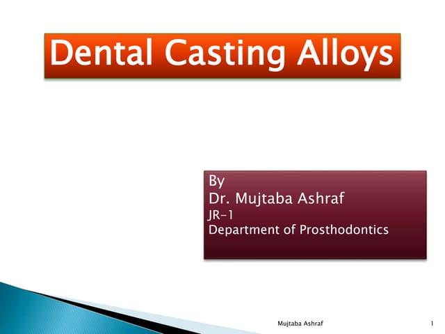 Dental Casting alloy