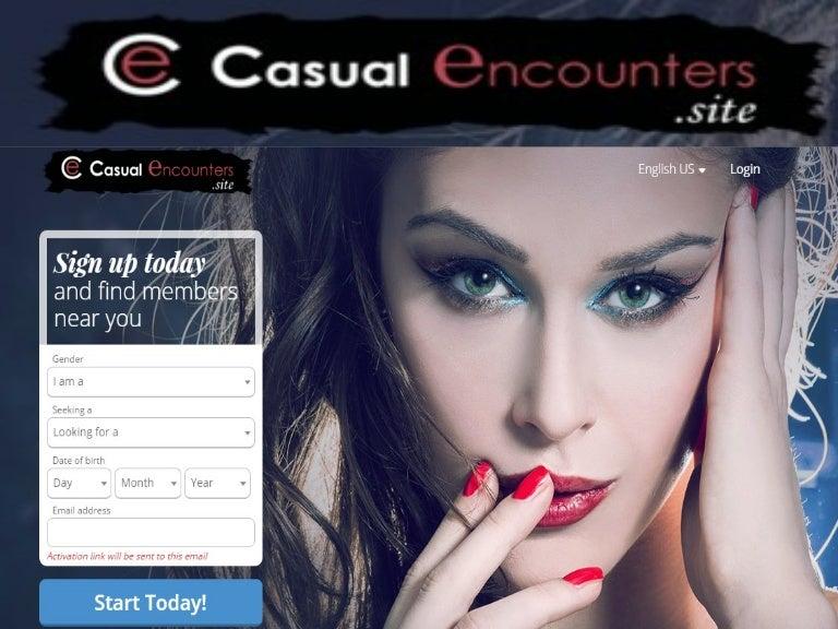 Casual encounters website