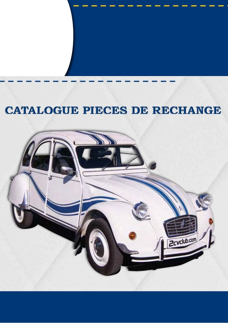 Catalogue Pieces 2cv 2015