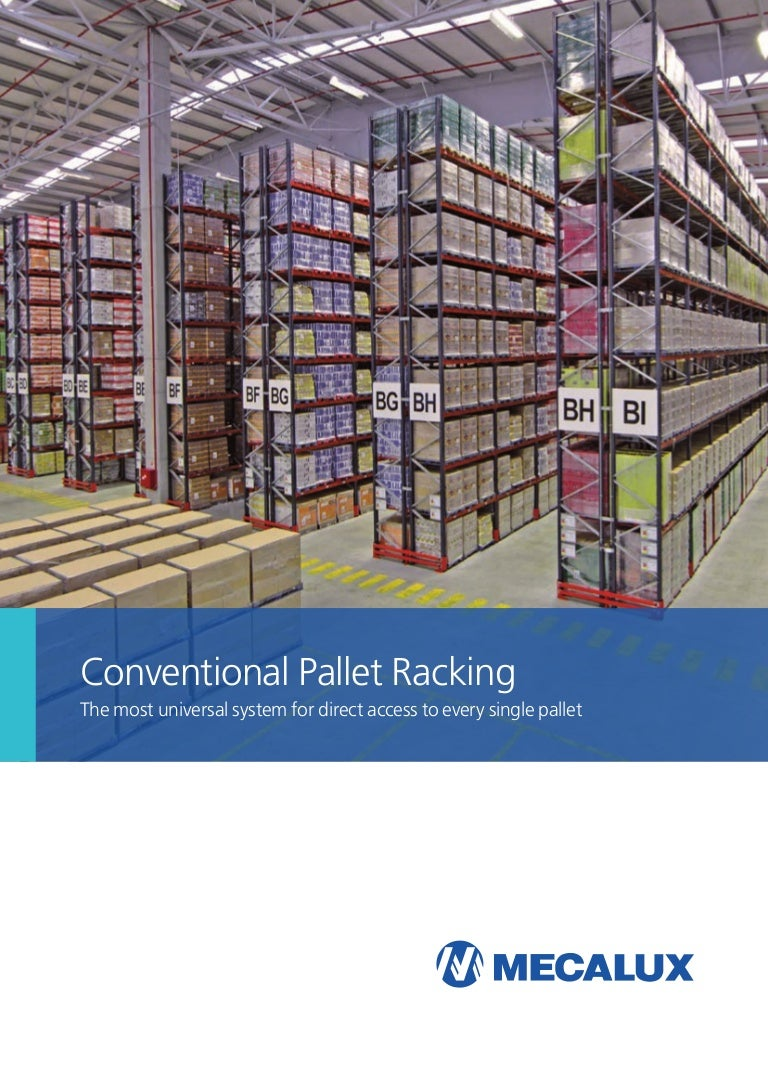 Front pallet racks: technical specifications