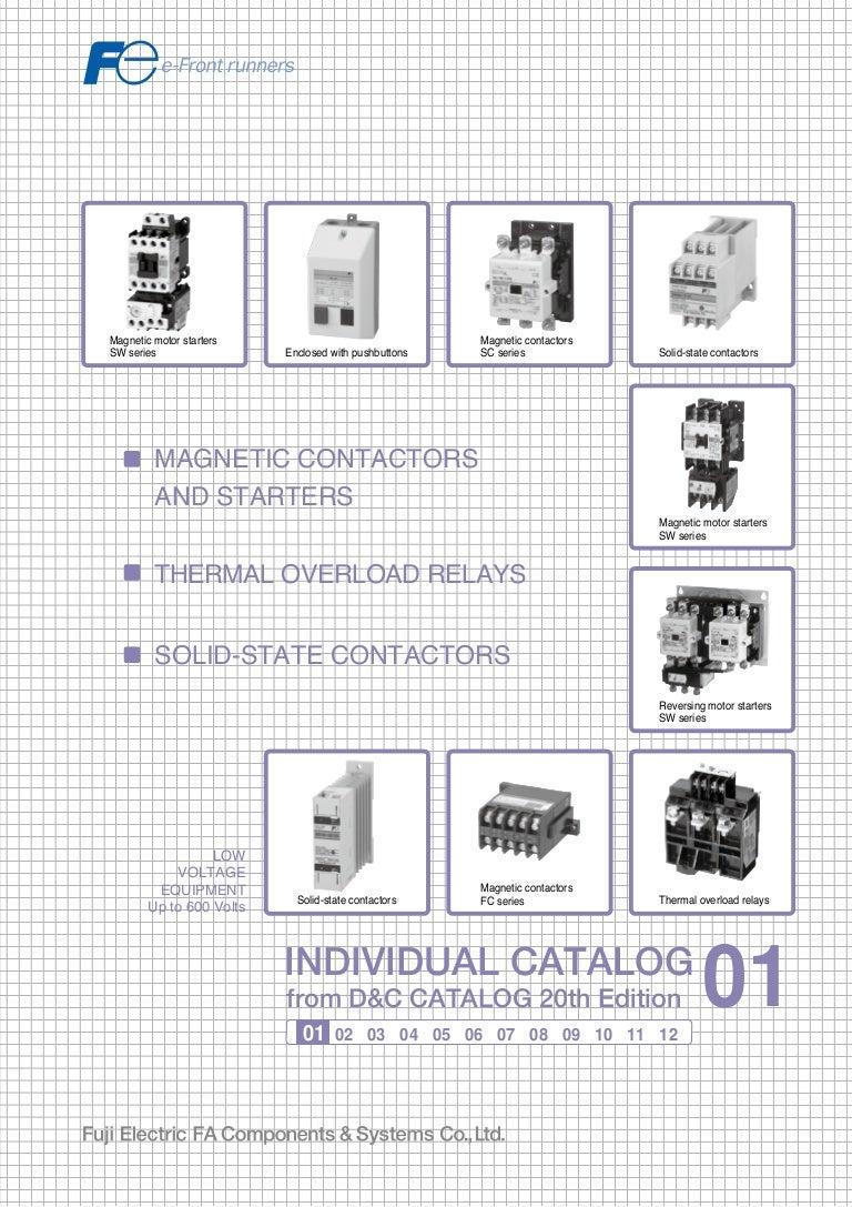 ONE NEW Fuji Magnetic Contactor SC-5-1 220VAC