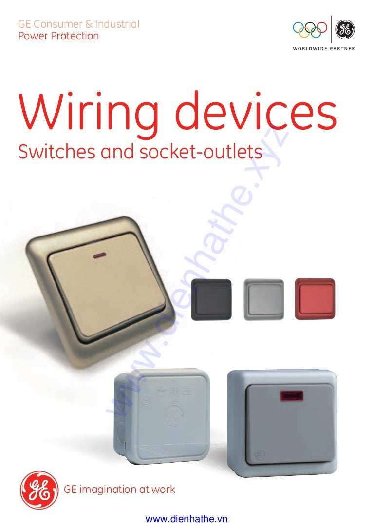 cataloge ge 6 wiring devices dienhathe com 1 general catalogue rh slideshare net ge wiring devices dept ge wiring devices dept