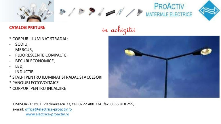 Stalp iluminat stradal 8m