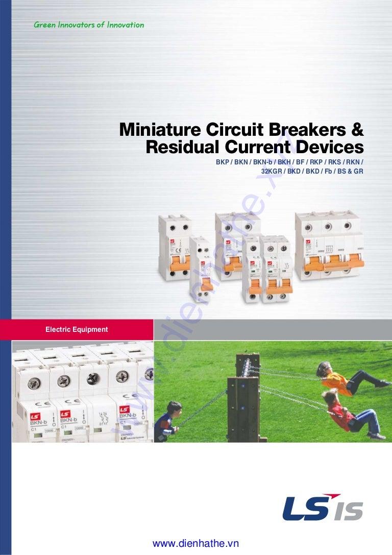 Catalog Ls Mcb Bkn Bkh Dienhathevn Spm Circuit Breaker 3p 25amp 6ka Rating 3 Pole 25 Amp