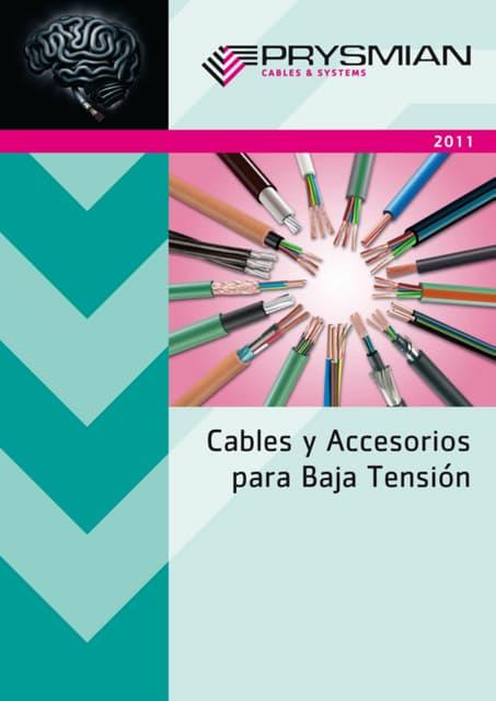 Catalogo cables bt 2011