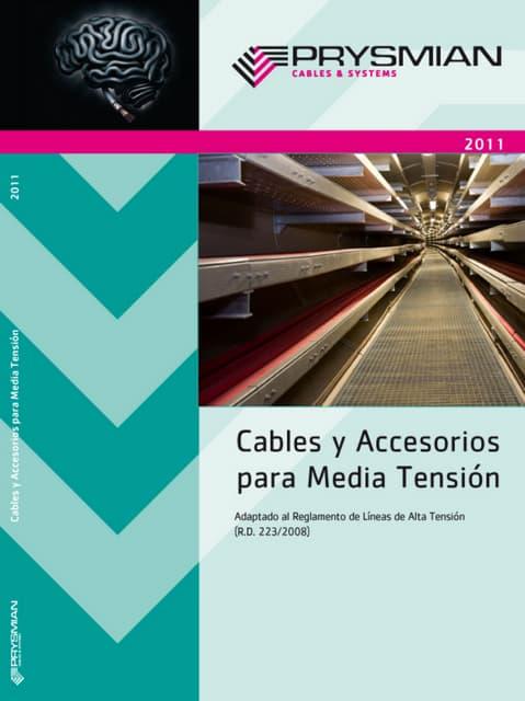 Catalogo cables mt 2011