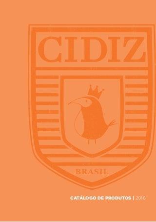 Catálogo completo 2016 cidiz