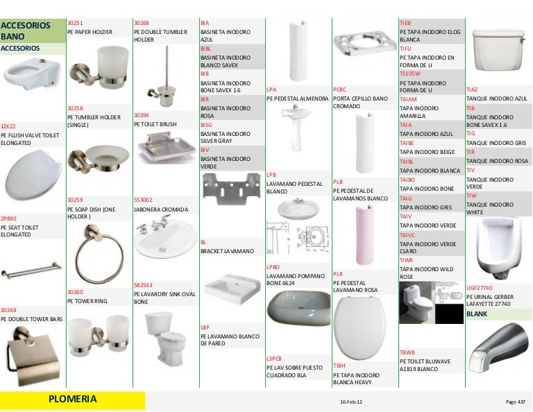 Catalogo sanitario for Sanitarios easy catalogo